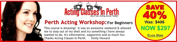 Acting Classes In Perth