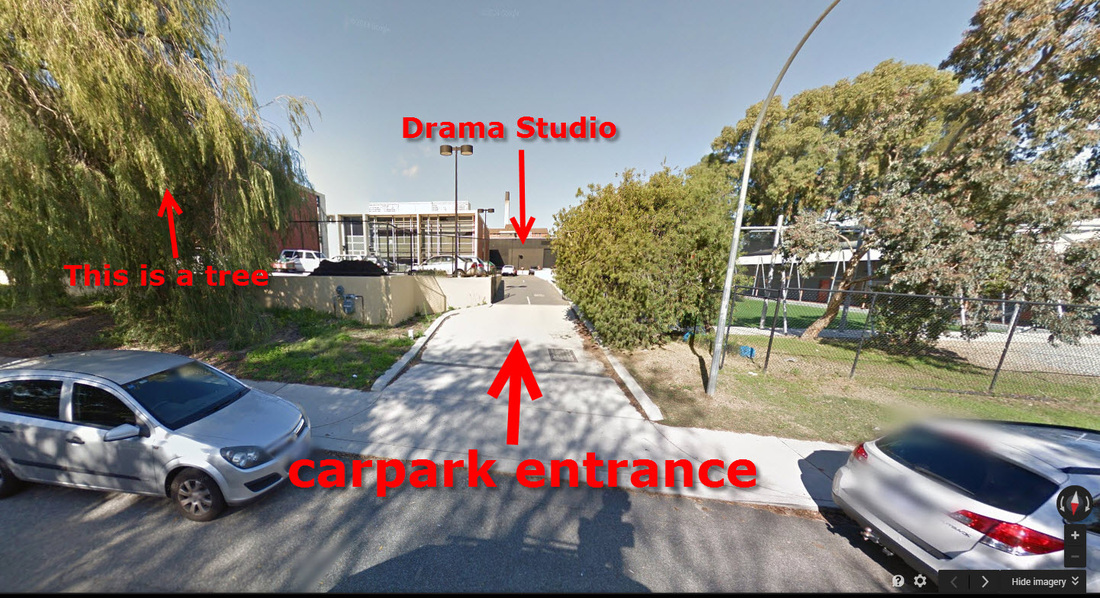 Entrance of Drama Studio - Perth Modern - Acting Classes In Perth