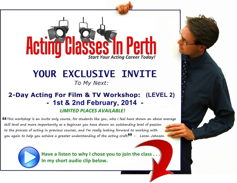 Acting class inPerth exclusive invite