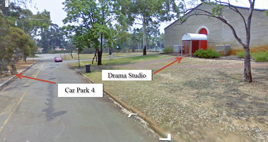 Entrance of Drama Studio - Murdoch - Acting Classes In Perth