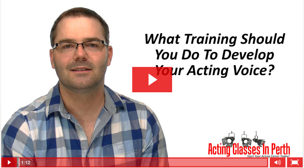 FREE Online Acting Classes & Tips: What Training Should You Do To Develop Your Acting Voice